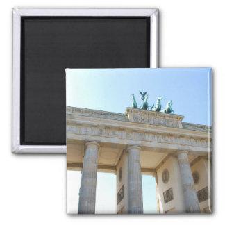 Brandenburger Tor, Berlin Square Magnet