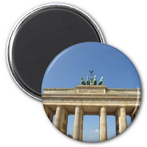 Brandenburger Tor Brandenburg Gate Berlin Fridge Magnet