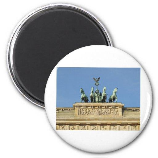 Brandenburger Tor (Brandenburg Gate) famous landma Fridge Magnets