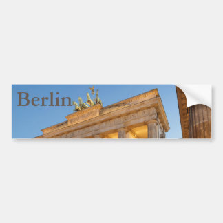 Brandenburger Tor in Berlin Bumper Sticker