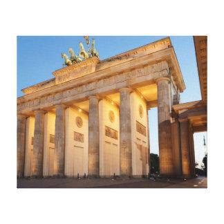 Brandenburger Tor in Berlin Canvas Print