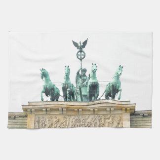 Brandenburger Tor in Berlin, Germany Towel