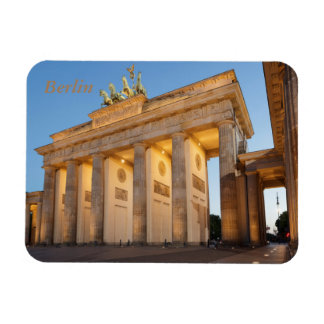 Brandenburger Tor in Berlin Rectangular Photo Magnet