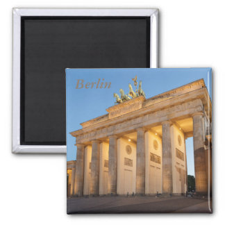Brandenburger Tor in Berlin Square Magnet