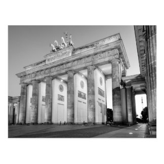 Brandenburger Tor monochrome photograph Postcard