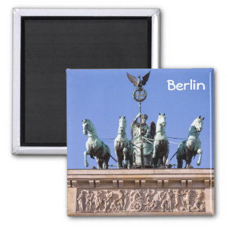 Brandenburger Tor Square Magnet