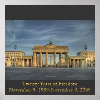 BrandenburgerTOR_16b, Twenty Years of FreedomNo... Poster