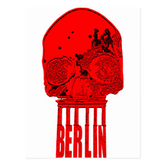 BrandenBurgSkull Postcard