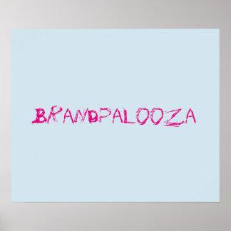 Brandpalooza Poster Light Blue