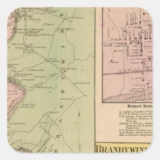 Brandywine Banks Square Sticker