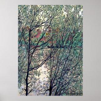 Brandywine Creek, Delaware, USA Poster