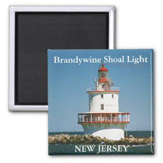 Brandywine Shoal Light, New Jersey Magnet