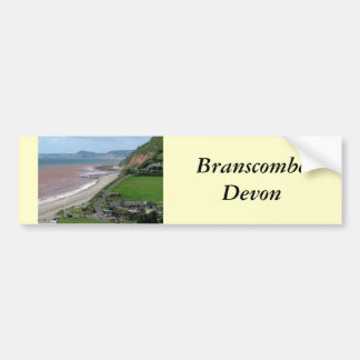 Branscombe Beach Bumper Sticker