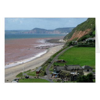 Branscombe Beach Card
