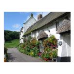 Branscombe Village Devon Postcard