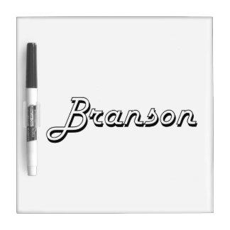 Branson Classic Retro Name Design Dry-Erase Boards