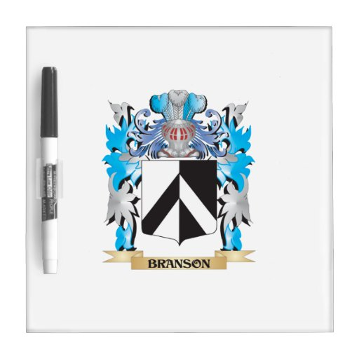 Branson Coat of Arms Dry-Erase Whiteboard