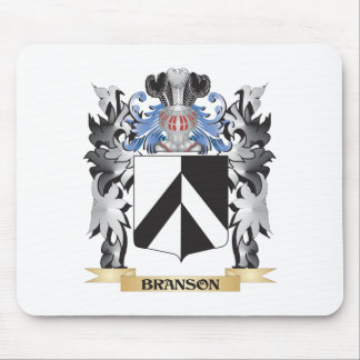 Branson Coat of Arms - Family Crest Mouse Pad