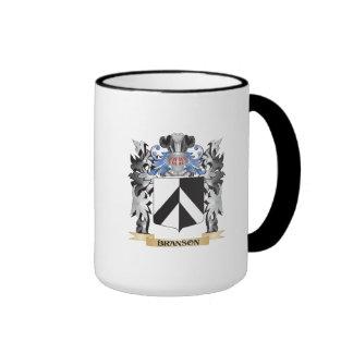 Branson Coat of Arms - Family Crest Ringer Mug