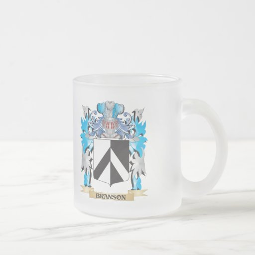Branson Coat of Arms Coffee Mugs