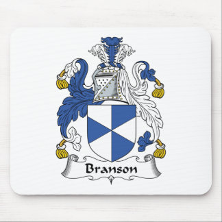 Branson Family Crest Mouse Pad