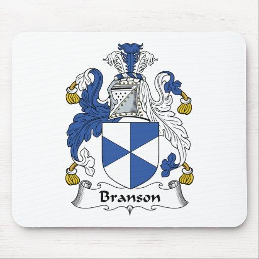 Branson Family Crest Mouse Mat