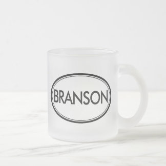Branson Frosted Glass Coffee Mug