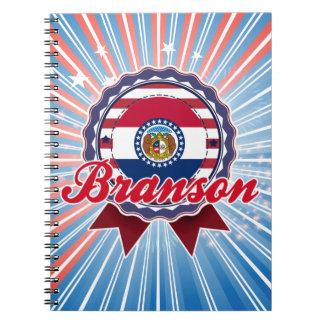 Branson, MO Note Book
