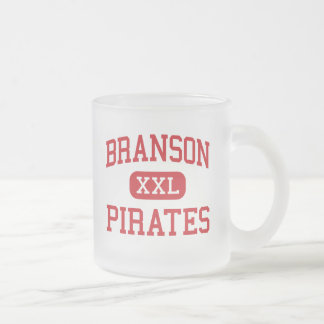 Branson - Pirates - Junior - Branson Missouri Frosted Glass Mug