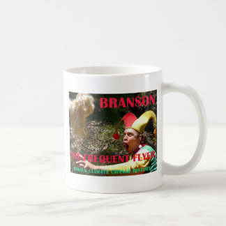 BRANSON THE FREQUENT FLYER COFFEE MUGS