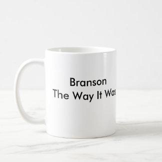 Branson The Way It Was Basic White Mug
