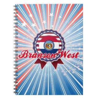 Branson West, MO Notebooks