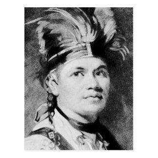 Brant - Joseph / Mohawk Indian Chief Postcard