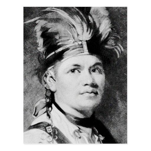 Brant - Joseph / Mohawk Indian Chief Postcards