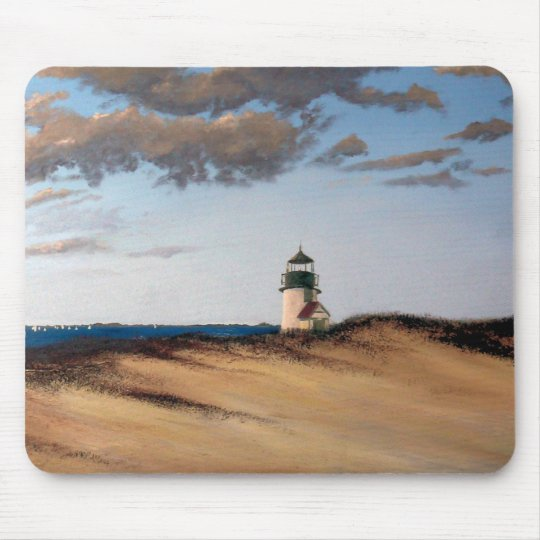 Brant Point Harmony Nantucket Lighthouse Mousepad