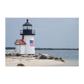 Brant Point Lighthouse 2 Canvas Print