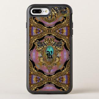 Branwenton Elegant Goth Protective Monogram OtterBox Symmetry iPhone 8 Plus/7 Plus Case