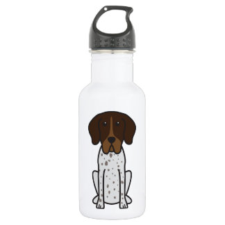 Braque Francais Dog Cartoon 532 Ml Water Bottle