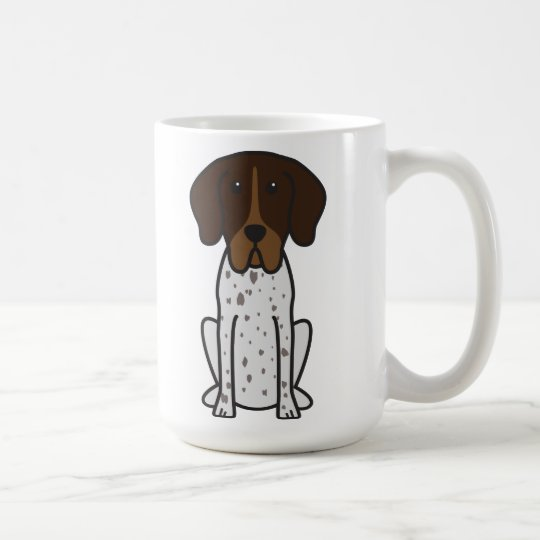 Braque Francais Dog Cartoon Coffee Mug