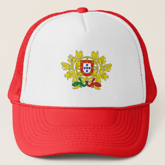 Brasão de armas de Portugal Trucker Hat