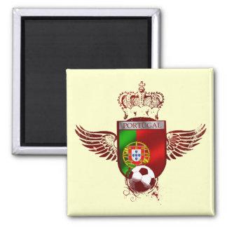 Brasão de Futebol Fás Portugueses Refrigerator Magnet