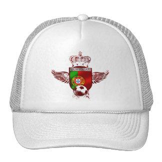 Brasão de Futebol Fás Portugueses Trucker Hat