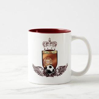 Brasão dos fás de futebol portuguesa mug
