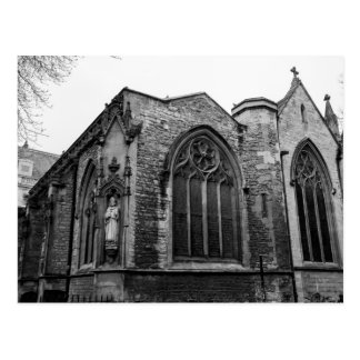 """Brase Nose Lane Church"" design postcards"