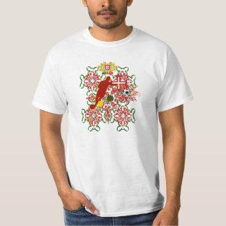 Brasil 2014 Portugal Brazil Copo do Mundo Tee Shirt