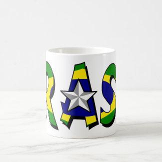 Brasil Basic White Mug