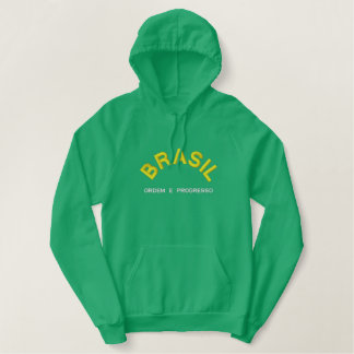 BRASIL (Brazil) Embroidered Hoodie