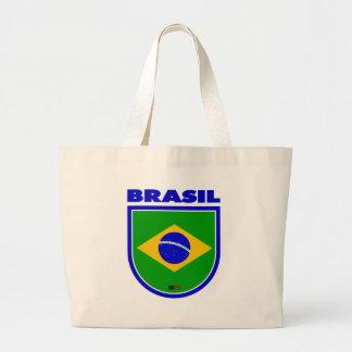 Brasil (Brazil) Large Tote Bag