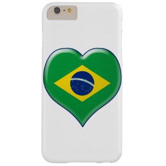 BRASIL CORAÇÃO Charme Barely There iPhone 6 Plus Case
