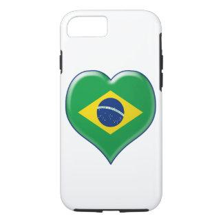 BRASIL CORAÇÃO Charme iPhone 7 Case